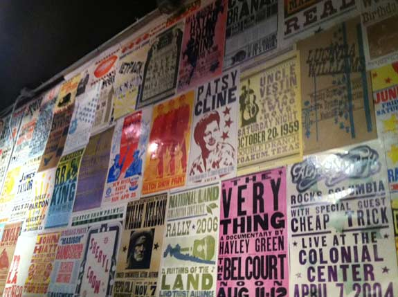 Hatch Show Print Posters 12th Street Tap Room Nashville, TN