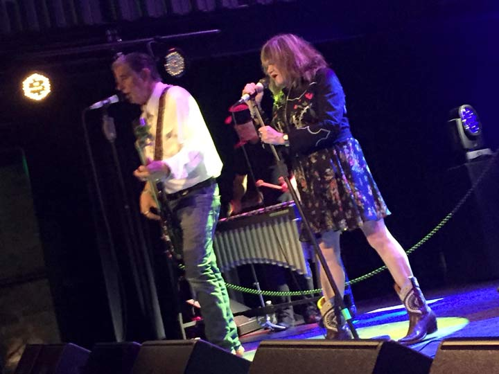 John Doe and Exene - X