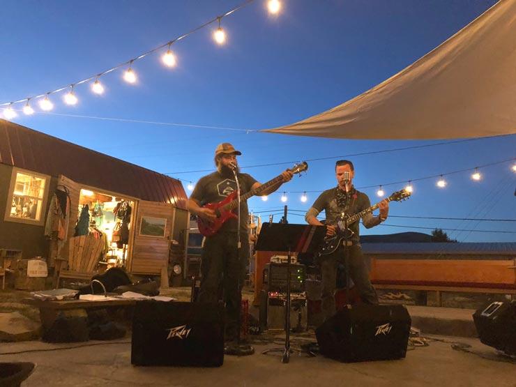 Fire creek Band at Beer Parlor, Hot Springs Montana