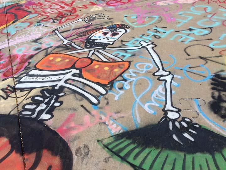 Graffiti de los Muertos