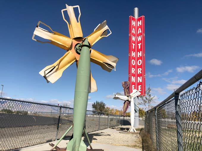 Hawthorne Nevada Ammo Art
