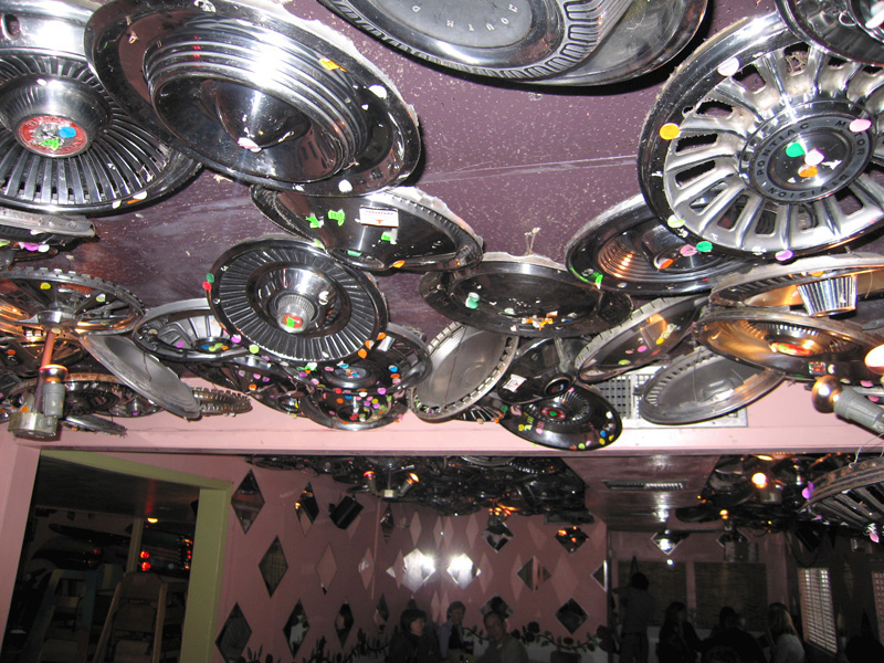 Chuy's Hubcaps, Austin Texas