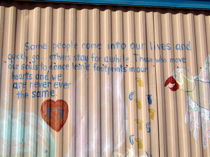 Poetry Art on the Riverbend Hot Springs Womens Dorm