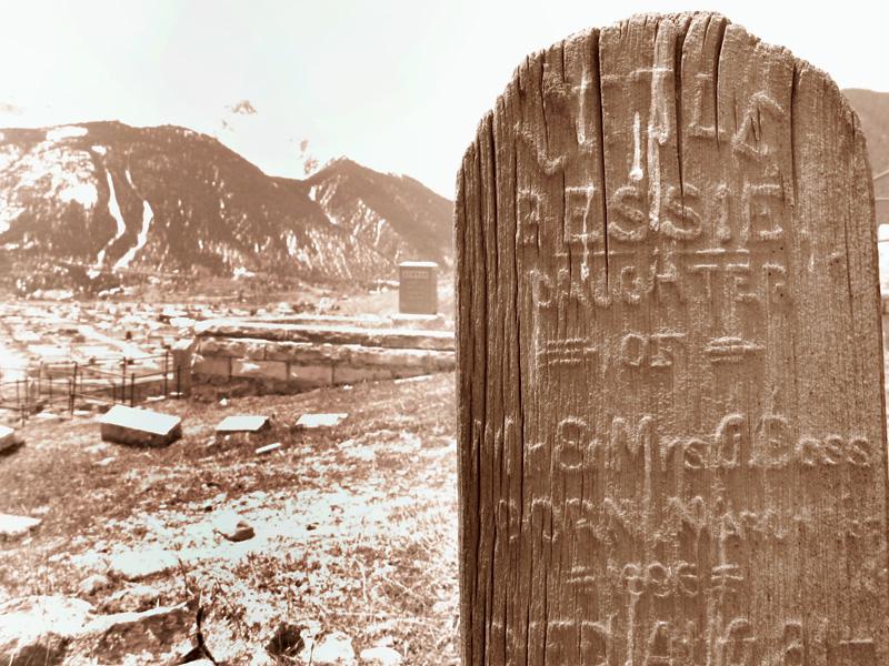 Hillside Cemetery above Silverton Colorado