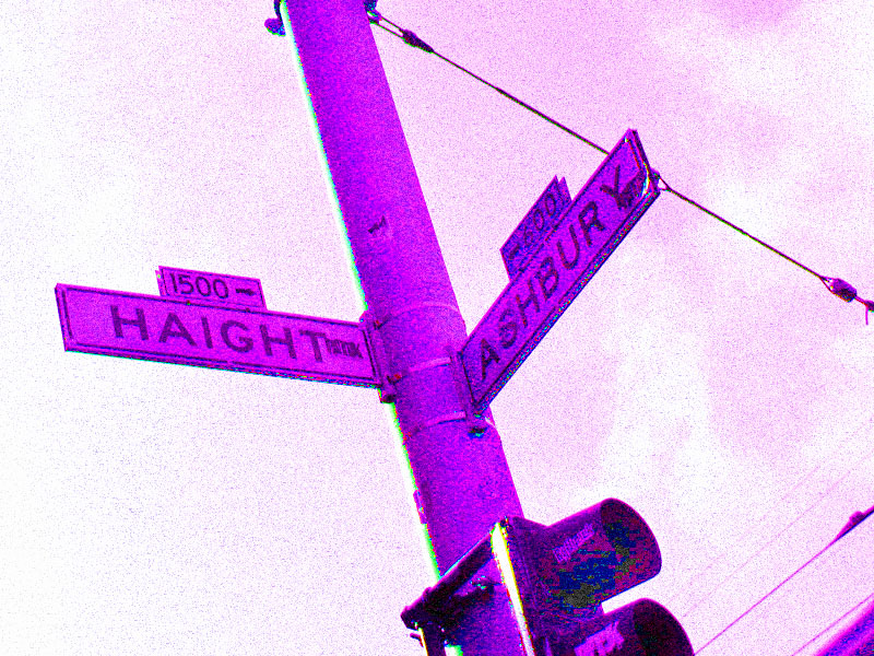 Tripping at Haight and Ashbury