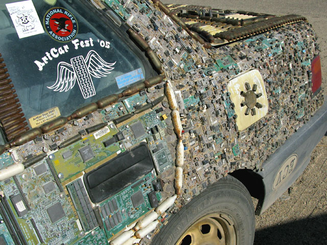 Slab City Art Car