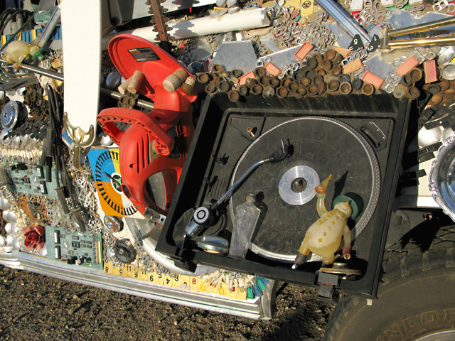 Slab City Art Car Turntable