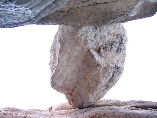 Big Bend Rock formation at Ernst Tinaja