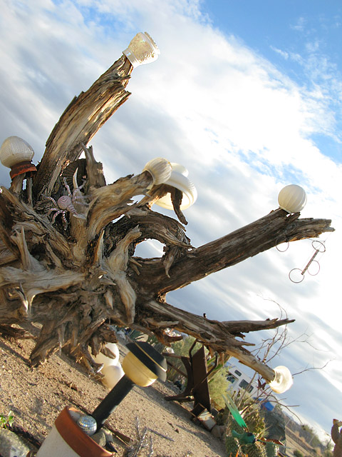 Slab City Grotto Art Garden