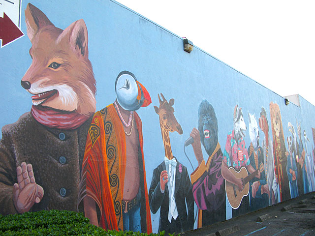 Redwood Rural Mural Bureau Art Eureka CA