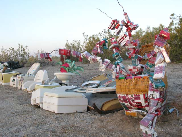 Slab City Junk Art