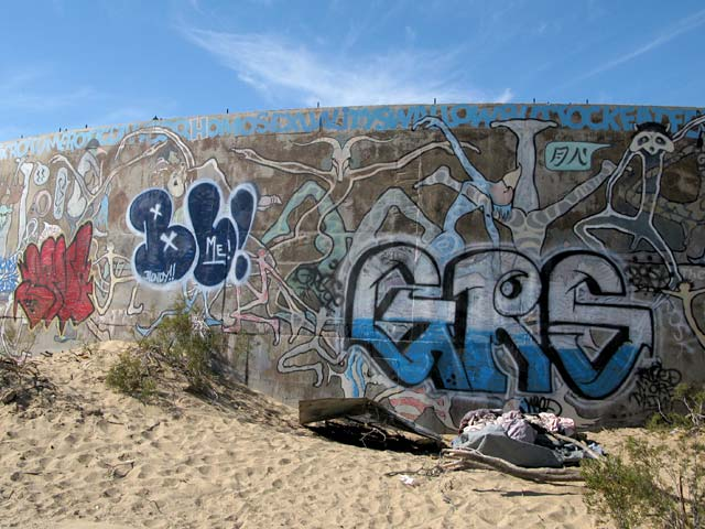 Slab City Tanks Grafitti Art