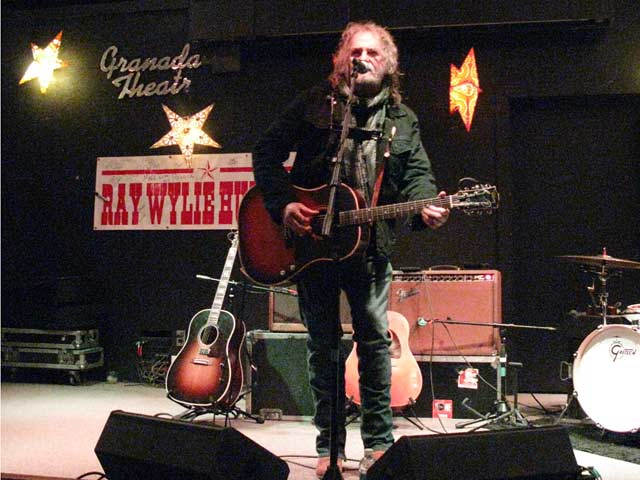 Ray Wylie Hubbard Alpine Artwalk Granada Theatre Benefit