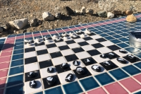Denny's Speedway Chess Game FOY