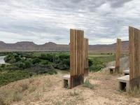 Green River Utah Art Chairs