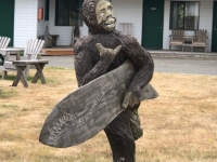 Surfing Bigfoot Teenager
