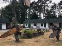 Surfing Bigfoot Family