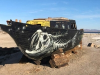 Bombay Beach Art Scene