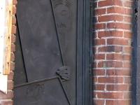 Bisbee, AZ Alley Roka Cafe Back Door Art