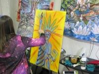 2017 Humboldt Cannifest Artists Live Painting
