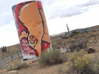 Two Guns Arizona Ghost Kampground Graffiti
