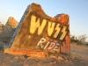 Wuss Ride Grafiti Slab City Tanks