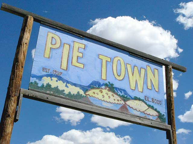 Pie Town New Mexico Landmark