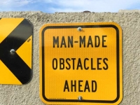 Man Made Obstacles,  Ephrata WA
