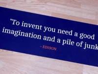 Edison Quote Carbon County Museum