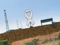 Autism Memorial Ribbon, Ephrata WA