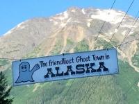 Hyder Alaska Ghost Town Sign