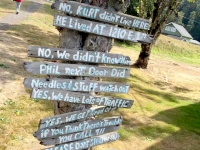 Aberdeen, WA Curt Cobain Landing Memorial Park Neighbor
