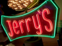 Lost Vegas Neon Museum - Jerry's Sign