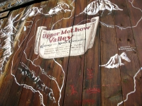 Winthrop Washington visitor sign