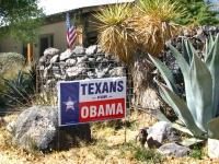 Texans for Obama Marfa Texas