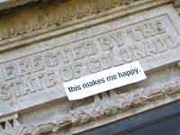 Denver Capitol Civil War Memorial Makes Someone Happy
