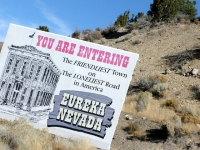 Just passing through Eureka Nevada