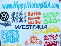 Fun Car and RV Stickers from HippyMotorsUSA.com