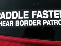 Rio Grande Kayaking Border Patrol Sticker