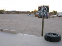 No Trash at Slab City