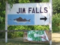 Jim Falls in Wisconsin
