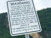 Skagway Alaska Port Sewer Discharge