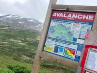 Yukon Avalanche Area along Highway 3 Tundra