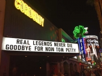 Petty Tribute on Freemont Street, Vegas October 2017