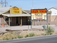 Casa Taco Restaurant and RV Storage