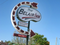 Classic Motel Sign in T or C, new Mexico