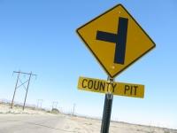 County Pit  near Slab City Niland, CA