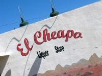 El Cheapo Liquor Store Marfa Texas