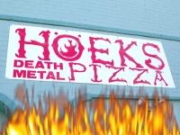 Hoeks Death Metal Pizza Sixth Street Austin Texas
