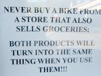 Festus, MO Independent Bike Shop Sign